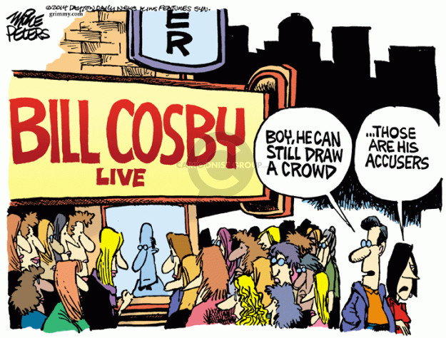Mike Peters  Mike Peters' Editorial Cartoons 2014-11-23 sexual assault
