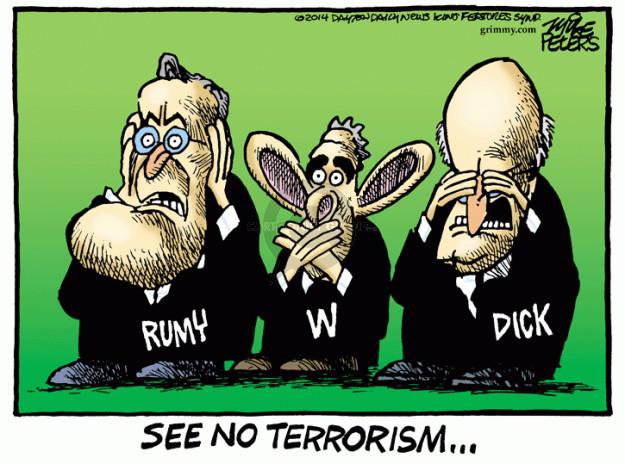 Cartoonist Mike Peters  Mike Peters' Editorial Cartoons 2014-12-10 intelligence
