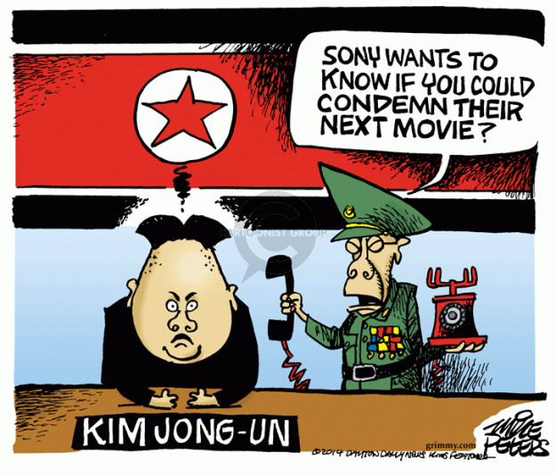 Cartoonist Mike Peters  Mike Peters' Editorial Cartoons 2014-12-26 Kim
