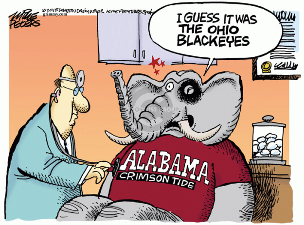 Cartoonist Mike Peters  Mike Peters' Editorial Cartoons 2015-01-02 university