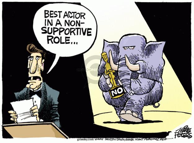 Mike Peters  Mike Peters' Editorial Cartoons 2015-01-16 Oscar