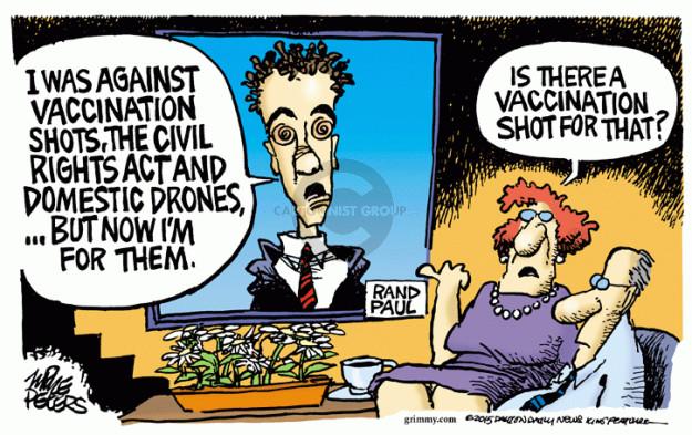 Cartoonist Mike Peters  Mike Peters' Editorial Cartoons 2015-02-06 shot