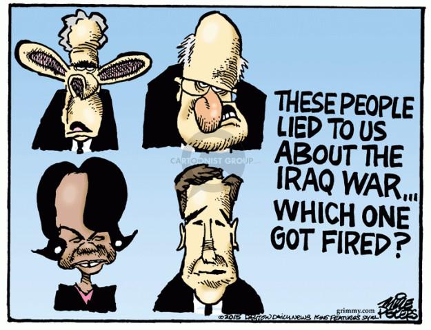 Mike Peters  Mike Peters' Editorial Cartoons 2015-02-12 George