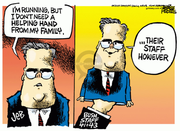 Cartoonist Mike Peters  Mike Peters' Editorial Cartoons 2015-02-19 election