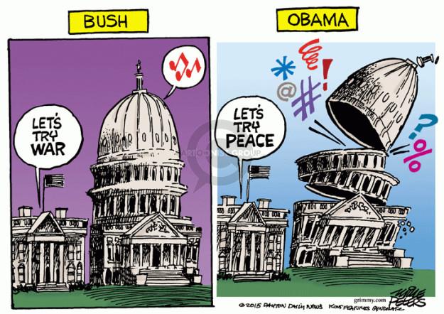 Cartoonist Mike Peters  Mike Peters' Editorial Cartoons 2015-04-09 George