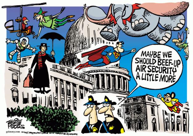 Cartoonist Mike Peters  Mike Peters' Editorial Cartoons 2015-04-16 defense