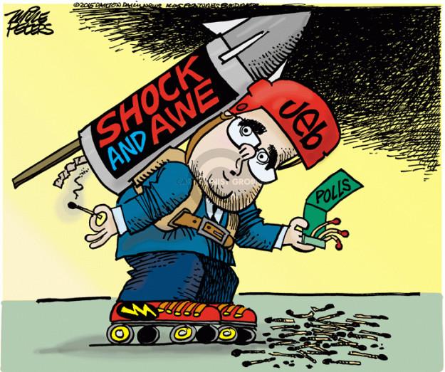 Cartoonist Mike Peters  Mike Peters' Editorial Cartoons 2015-05-12 Iraq war