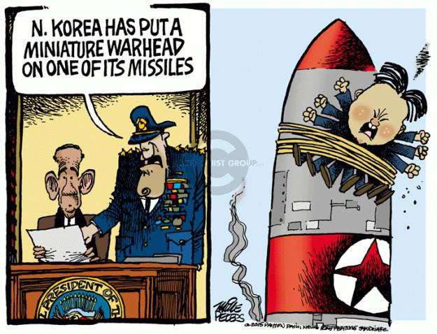 Cartoonist Mike Peters  Mike Peters' Editorial Cartoons 2015-05-22 Korea