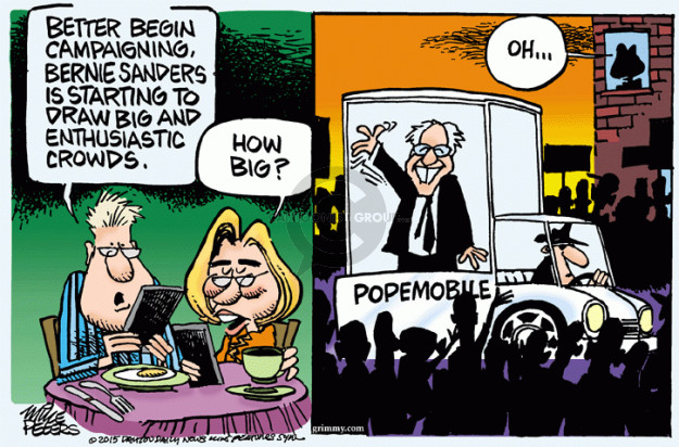 Cartoonist Mike Peters  Mike Peters' Editorial Cartoons 2015-07-10 Clinton