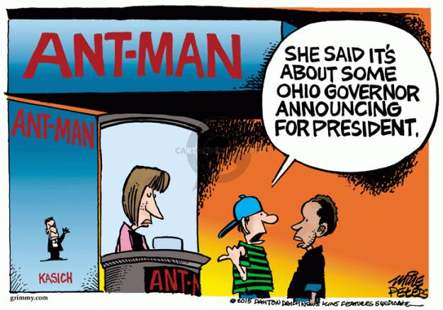 Cartoonist Mike Peters  Mike Peters' Editorial Cartoons 2015-07-17 movie