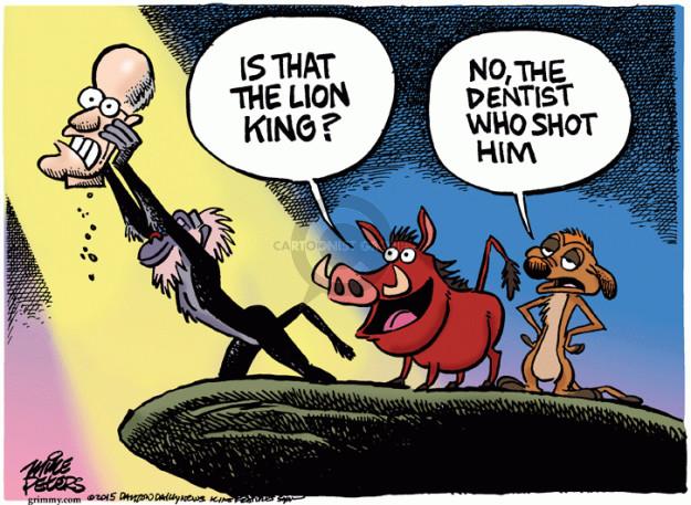 Cartoonist Mike Peters  Mike Peters' Editorial Cartoons 2015-08-06 shot