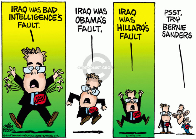 Cartoonist Mike Peters  Mike Peters' Editorial Cartoons 2015-08-14 Clinton