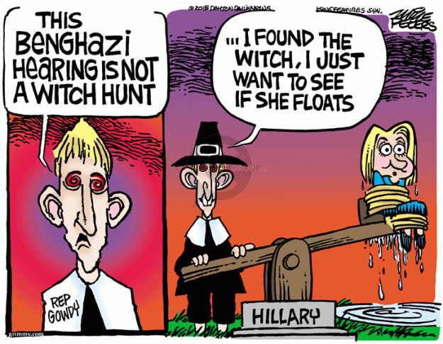 Cartoonist Mike Peters  Mike Peters' Editorial Cartoons 2015-10-22 Clinton