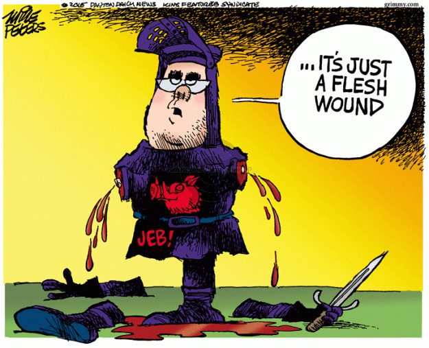 Cartoonist Mike Peters  Mike Peters' Editorial Cartoons 2015-10-30 presidential candidate
