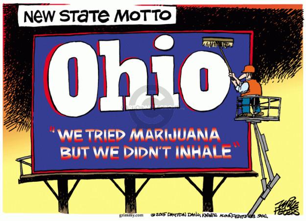 Cartoonist Mike Peters  Mike Peters' Editorial Cartoons 2015-11-04 drug