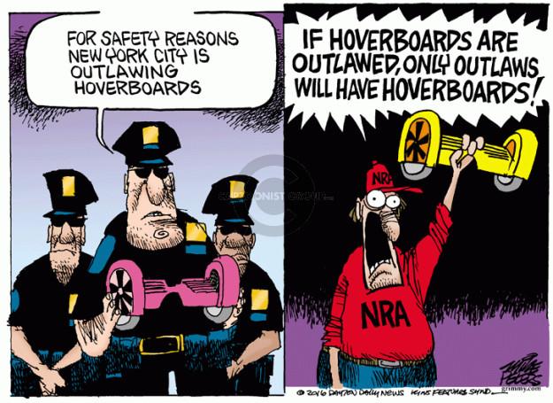 Cartoonist Mike Peters  Mike Peters' Editorial Cartoons 2016-01-08 NRA