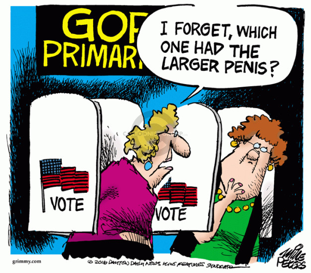 Mike Peters  Mike Peters' Editorial Cartoons 2016-03-04 2016 election Marco Rubio