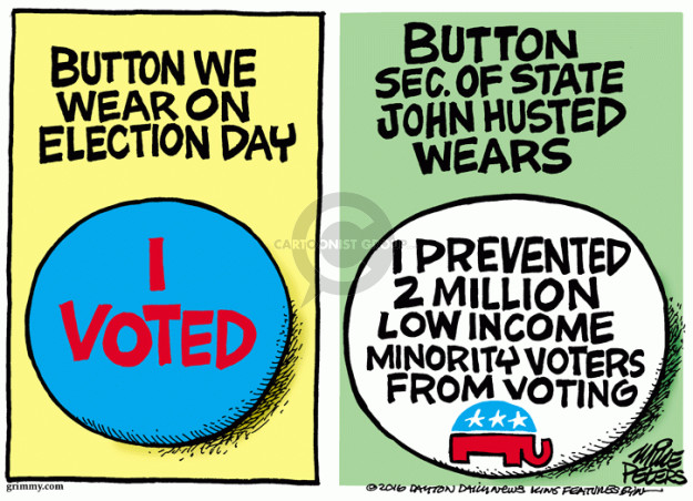 Mike Peters  Mike Peters' Editorial Cartoons 2016-04-07 John