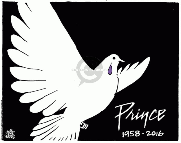 Mike Peters  Mike Peters' Editorial Cartoons 2016-04-22 obituary