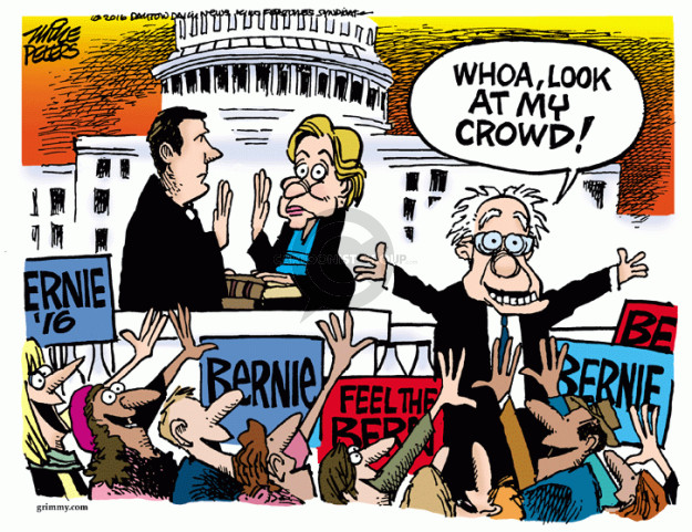 Cartoonist Mike Peters  Mike Peters' Editorial Cartoons 2016-04-28 Clinton
