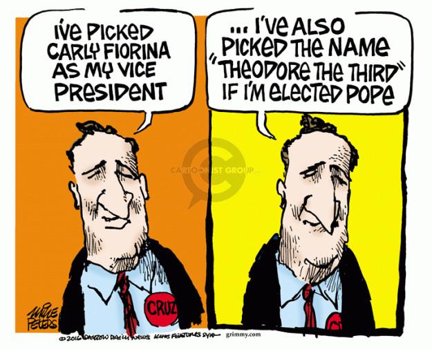 Cartoonist Mike Peters  Mike Peters' Editorial Cartoons 2016-04-29 church