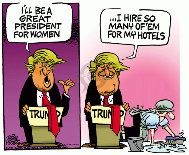 Cartoonist Mike Peters  Mike Peters' Editorial Cartoons 2016-05-10 female