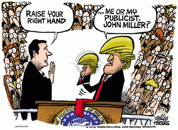 Mike Peters  Mike Peters' Editorial Cartoons 2016-05-13 Chief Justice