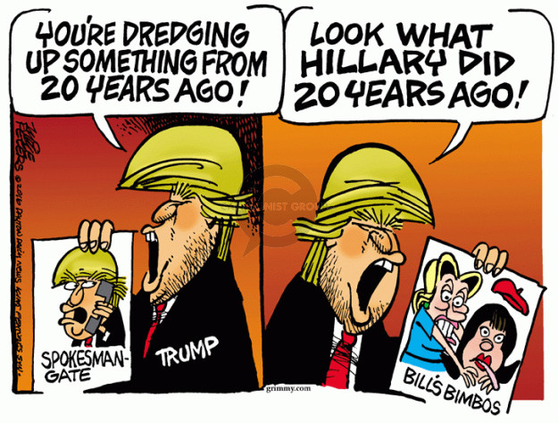 Cartoonist Mike Peters  Mike Peters' Editorial Cartoons 2016-05-16 political behavior