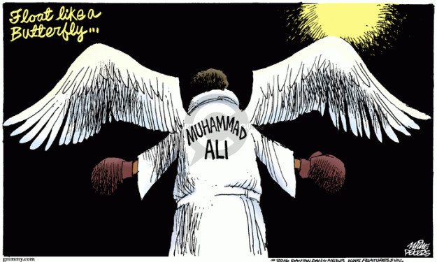 Mike Peters  Mike Peters' Editorial Cartoons 2016-06-04 boxing