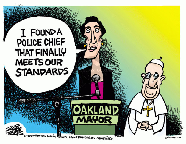 Mike Peters  Mike Peters' Editorial Cartoons 2016-06-21 police