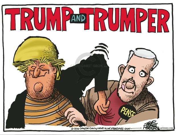 Cartoonist Mike Peters  Mike Peters' Editorial Cartoons 2016-07-16 Mike Pence