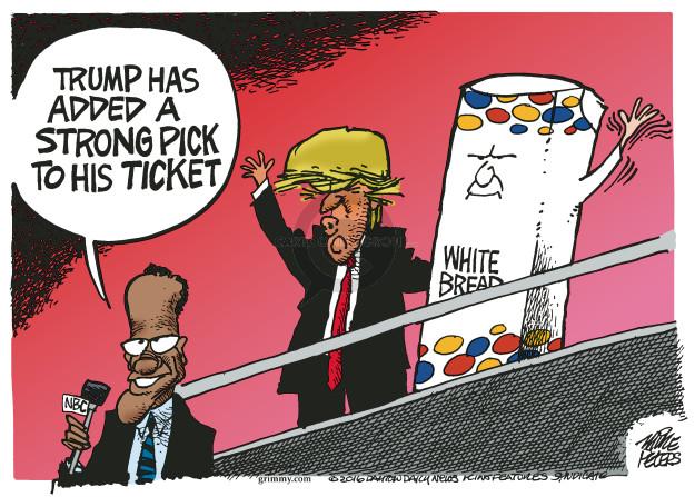 Cartoonist Mike Peters  Mike Peters' Editorial Cartoons 2016-07-15 African-American
