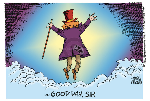 Mike Peters  Mike Peters' Editorial Cartoons 2016-08-30 obituary