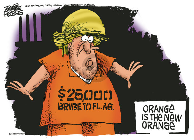 Mike Peters  Mike Peters' Editorial Cartoons 2016-09-07 Trump University