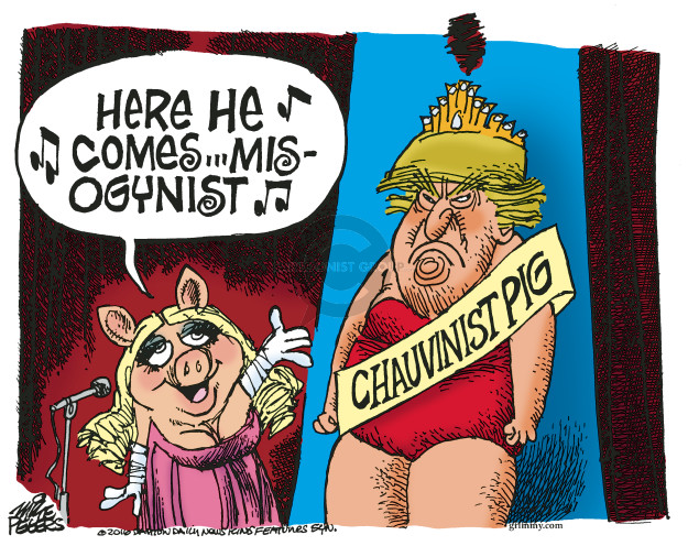 Mike Peters  Mike Peters' Editorial Cartoons 2016-09-29 Miss Universe