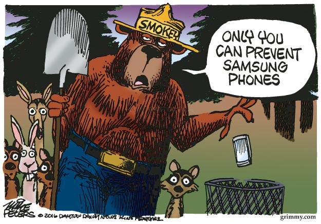 Cartoonist Mike Peters  Mike Peters' Editorial Cartoons 2016-10-12 bear
