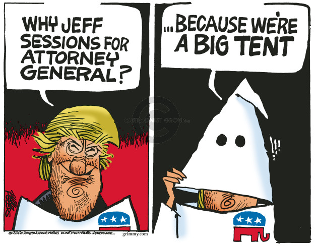 Why Jeff Sessions for Attorney General? … because were a big tent.