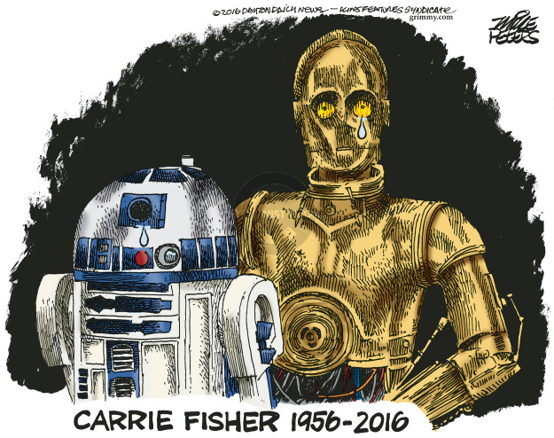Mike Peters  Mike Peters' Editorial Cartoons 2016-12-28 obituary
