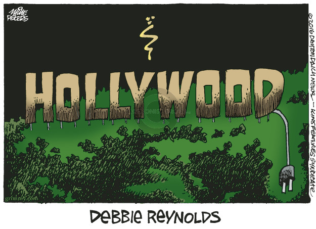 Mike Peters  Mike Peters' Editorial Cartoons 2016-12-29 obituary