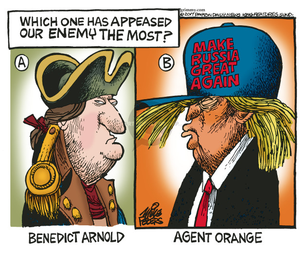 Cartoonist Mike Peters  Mike Peters' Editorial Cartoons 2017-01-06 revolutionary war
