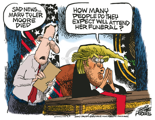 Mike Peters  Mike Peters' Editorial Cartoons 2017-01-26 obituary