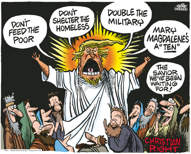Mike Peters  Mike Peters' Editorial Cartoons 2017-02-09 poor