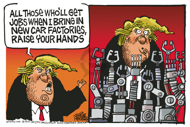 Mike Peters  Mike Peters' Editorial Cartoons 2017-04-02 automobile