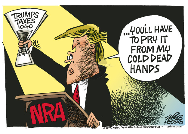 Mike Peters  Mike Peters' Editorial Cartoons 2017-04-25 tax