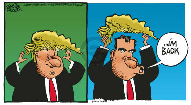 Cartoonist Mike Peters  Mike Peters' Editorial Cartoons 2017-05-10 James