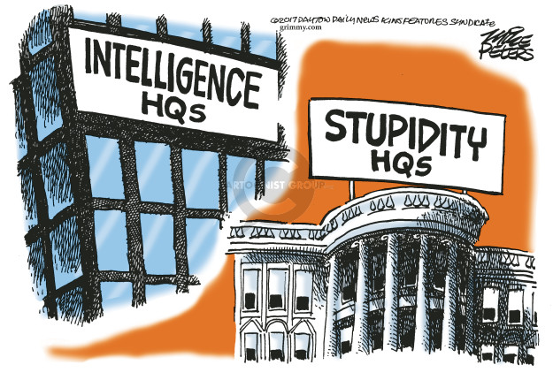 Mike Peters  Mike Peters' Editorial Cartoons 2017-05-17 Donald Trump