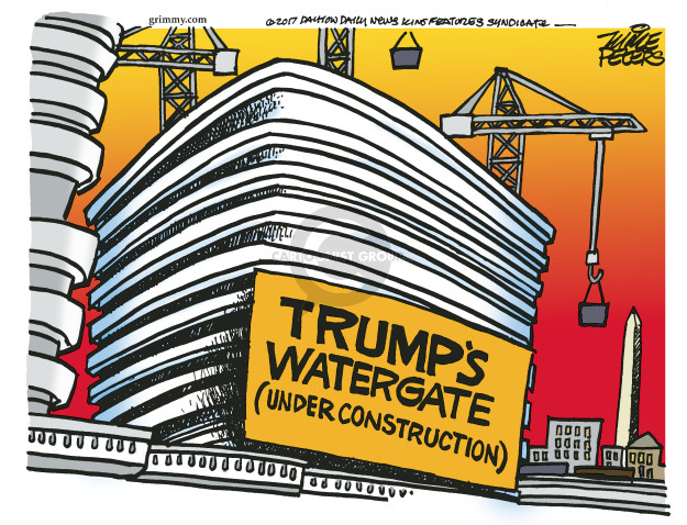 Cartoonist Mike Peters  Mike Peters' Editorial Cartoons 2017-06-15 presidential administration