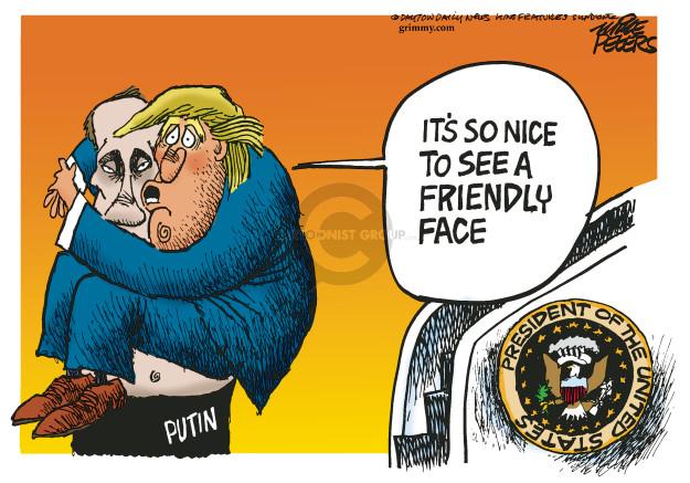 Cartoonist Mike Peters  Mike Peters' Editorial Cartoons 2017-07-06 Mike