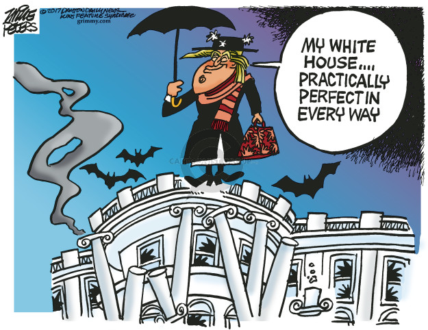Cartoonist Mike Peters  Mike Peters' Editorial Cartoons 2017-07-13 Russia Investigation
