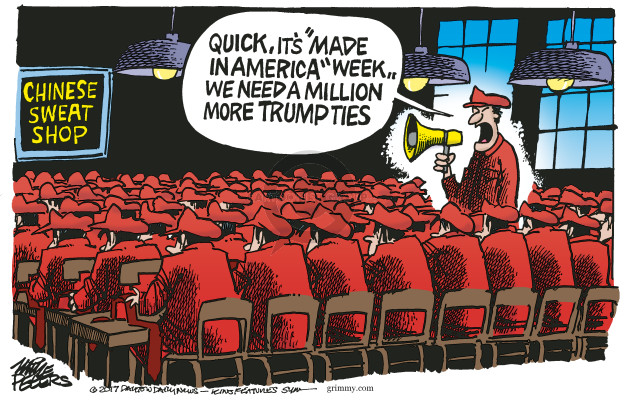Mike Peters  Mike Peters' Editorial Cartoons 2017-07-19 manufacture